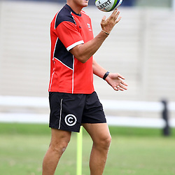 DURBAN, SOUTH AFRICA, January 2016 - Ryan Strudwick (Assistant Coach) of the Cell C Sharks during The Cell C Sharks Pre Season training Tuesday 12th January 2016,for the 2016 Super Rugby Season at Growthpoint Kings Park in Durban, South Africa. (Photo by Steve Haag)<br /> images for social media must have consent from Steve Haag