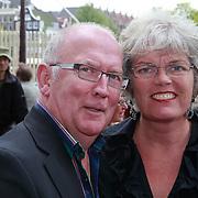 NLD/Amsterdam/20110731 - Premiere circus Hurricane met Hans Klok, harry Slinger en partner Marijke van der Pol