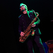 "Mars Williams of The Psychedelic Furs performs on May 8, 2011 in support of the 30th Anniversary of ""Talk Talk Talk"" at the Showbox Market in Seattle, Washington"
