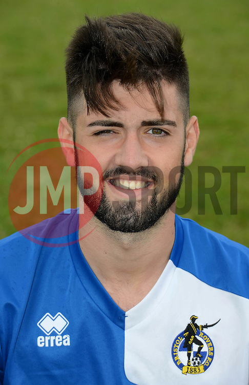 Blake Davies of Bristol Rovers u18s - Mandatory by-line: Dougie Allward/JMP - 07966386802 - 27/07/2015 - SPORT - FOOTBALL - Bristol,England - Golden Hill Training Centre - Bristol Rovers U18 Team Photo - Bristol Rovers U18 Team Photo