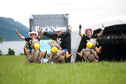 Fans at Rockness main area..Rockness, Saturday 12th June 2010..Pic ©2010 Michael Schofield. All Rights Reserved.