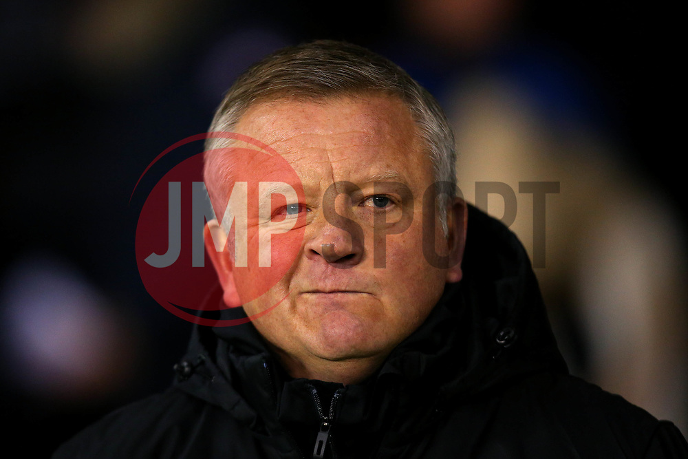 Sheffield United manager Chris Wilder - Mandatory by-line: Robbie Stephenson/JMP - 08/12/2017 - FOOTBALL - Bramall Lane - Sheffield, England - Sheffield United v Bristol City - Sky Bet Championship