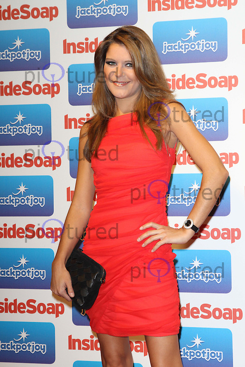Gemma Oaten Inside Soap Awards 2011, Gilgamesh, The Stables Market, Camden Town, London, UK. 26 September 2011 Contact: Rich@Piqtured.com +44(0)7941 079620 (Picture by Richard Goldschmidt)