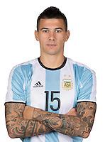 Football Conmebol_Concacaf - <br />Copa America Centenario Usa 2016 - <br />Argentina National Team - Group D -<br />Victor Cuesta