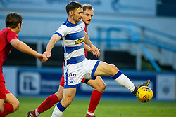 Morton's Robert McHugh. Morton 1 v 1 Brora Rangers, 3rd Round of the Scottish Cup played 23/11/2019 at Cappielow, Greenock.