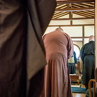 The 2017 Order of the Boundless Way and Order of Hsu Yun Ordination of Eric (Yin Jing Bai Ya) Richard and Chris Price at the Open Gate Zendo, Olympia, Washington Aug. 26, 2017. (Ordination Photos by Kojin Stuart Tennis)