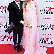 NLD/Amsterdam//20140401 - Filmpremiere The Other Woman, Bradley Miles en Lindsey Sijmons