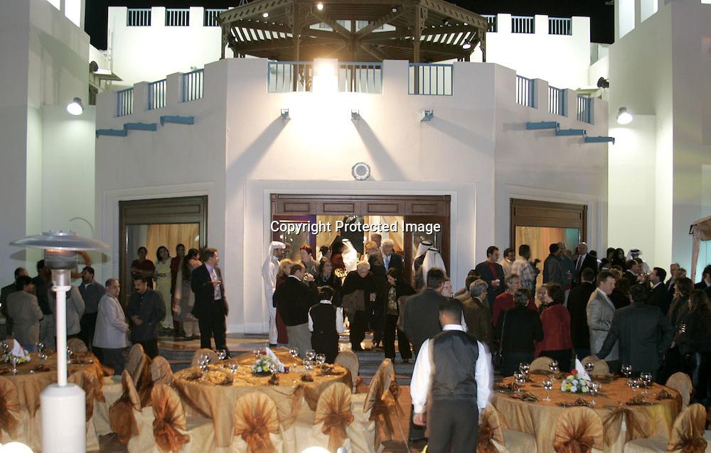 Qatar, Doha, ATP Tennis Turnier Qatar Open 2005, Veranstaltung im Al Dana Club, 06.01.2005,<br /> Foto: Juergen Hasenkopf
