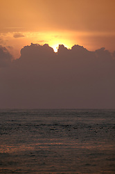 ATLANTIC OCEAN 30OCT14 - Sunrise over the Atlantic Ocean off the coast of Guinea.<br /> <br /> <br /> <br /> jre/Photo by Jiri Rezac / Greenpeace<br /> <br /> <br /> <br /> <br /> © Jiri Rezac 2014