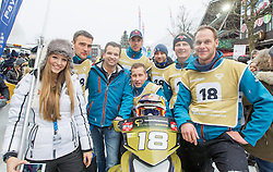 07.12.2014, Saalbach Hinterglemm, AUT, Snow Mobile, im Bild Team Pirkner Events // during the Snow Mobile Event at Saalbach Hinterglemm, Austria on 2014/12/07. EXPA Pictures © 2014, PhotoCredit: EXPA/ JFK