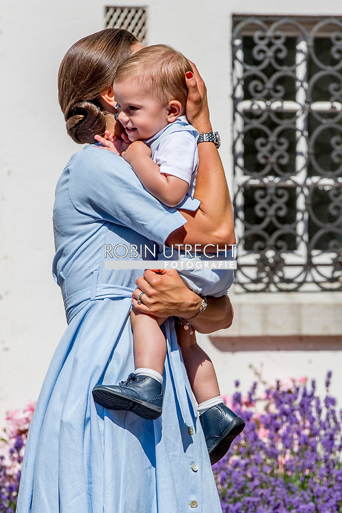 15-7-2017 - SOLLIDEN - The King Carl Gustaf  , The Queen Sofia  , The Crown Princess Victoria, Prince Daniel princess Estelle and Prince Oscar Crown Princess Victoria's birthday 40 celebrations of Crown Princess Victoria's 40th birthday, Borgholm, Sweden 15 July 2017.  copyright robin utrecht