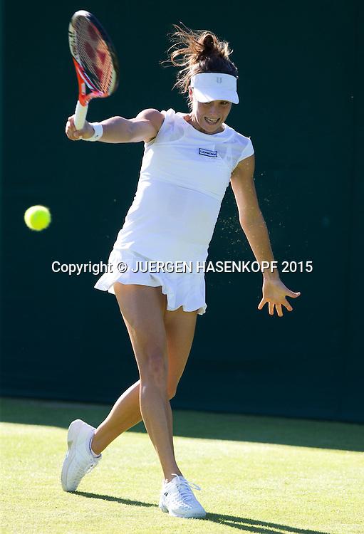 Tatjana Maria (GER)<br /> <br /> Tennis - Wimbledon 2015 - Grand Slam ITF / ATP / WTA -  AELTC - London -  - Great Britain  - 30 June 2015.