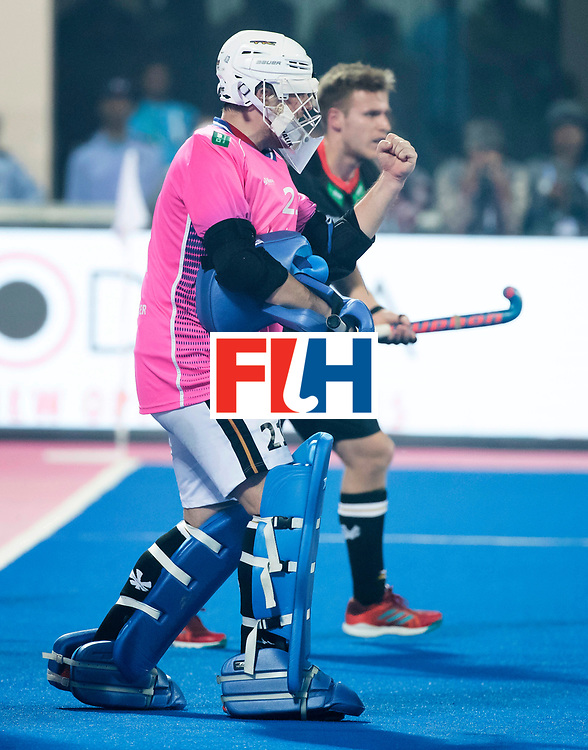 BHUBANESWAR - The Odisha Men's Hockey World League Final . keeper Tobias Walter (Ger) during  the match India v Germany. WORLDSPORTPICS COPYRIGHT  KOEN SUYK