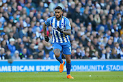 Brighton and Hove Albion striker Jurgen Locadia (25) during the The FA Cup match between Brighton and Hove Albion and Coventry City at the American Express Community Stadium, Brighton and Hove, England on 17 February 2018. Picture by Phil Duncan.