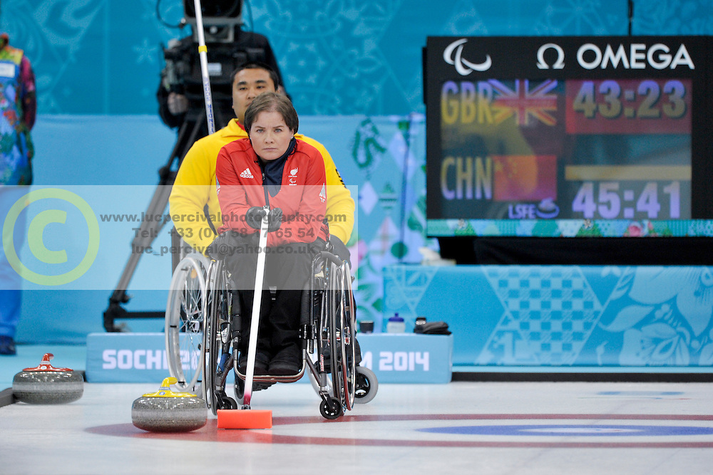 Aileen Neilson, Wheelchair Curling Finals at the 2014 Sochi Winter Paralympic Games, Russia