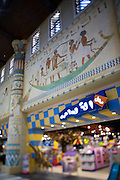 Ibn Battuta shopping mall, named after the famous Arabic traveller. Egypt Court.