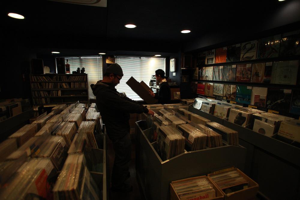 HAL'S RECORDS <br /> Haruhiko Ikeda (owner ) and his sonne Yosuke)