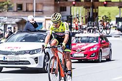 10.07.2019, Radstadt, AUT, Ö-Tour, Österreich Radrundfahrt, 4. Etappe, von Radstadt nach Fuscher Törl (103,5 km), im Bild Edoardo Zardini (Neri Selle Italia KTM, ITA) // Edoardo Zardini (Neri Selle Italia KTM, ITA) during 4th stage from Radstadt to Fuscher Törl (103,5 km) of the 2019 Tour of Austria. Radstadt, Austria on 2019/07/10. EXPA Pictures © 2019, PhotoCredit: EXPA/ JFK