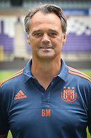 Anderlecht's analyst Bart Meert pictured during the 2015-2016 season photo shoot of Belgian first league soccer team RSC Anderlecht, Tuesday 14 July 2015 in Brussels.