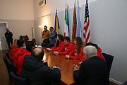 team<br /> Raduno Nazionale Italiana Femminile Senior - Visita al Sindaco di Montegrotto Terme<br /> FIP 2017<br /> Montegrotto Terme, 27/02/2017<br /> Foto Ciamillo - Castoria