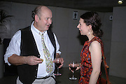 Louis de Berniers and Cecile Menon. For One Night Only...Fundraiser For the South Bank Centre. Purcell Room, Royal Festival Hall.4 December  2005. ONE TIME USE ONLY - DO NOT ARCHIVE  © Copyright Photograph by Dafydd Jones 66 Stockwell Park Rd. London SW9 0DA Tel 020 7733 0108 www.dafjones.com