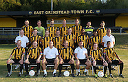 East Grinstead Town Tean and Players 2014-15