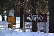 Copper City is another tiny little hamlet that grew out of the copper boom of long ago.