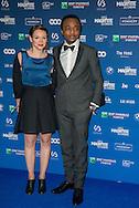 Marc Zinga et sa compagne lors de la cinquième cérémonie des Magritte du cinéma belge. De nombreuse personnalités du cinéma étaient présentes pour cette édition. Notamment Julie Gayet, Pierre Richard (Magritte d'Honneur), François Damiens, Thierry Lhermitte mais également SAR le Prince Laurent et la Princesse Claire de Belgique