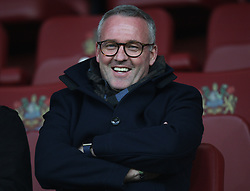 Stoke City Manager Paul Lambert watches in the stands - Mandatory by-line: Jack Phillips/JMP - 19/04/2018 - FOOTBALL - Turf Moor - Burnley, England - Burnley v Chelsea - English Premier League