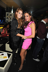 Left to right, PRINCESS BEATRICE OF YORK and ANASTASIA GRAZIOLI at Tallulah Rufus-Isaac's 21st birthday party held at The Kingley Club, 4 Upper St Martin's Lane, London on 24th September 2008.