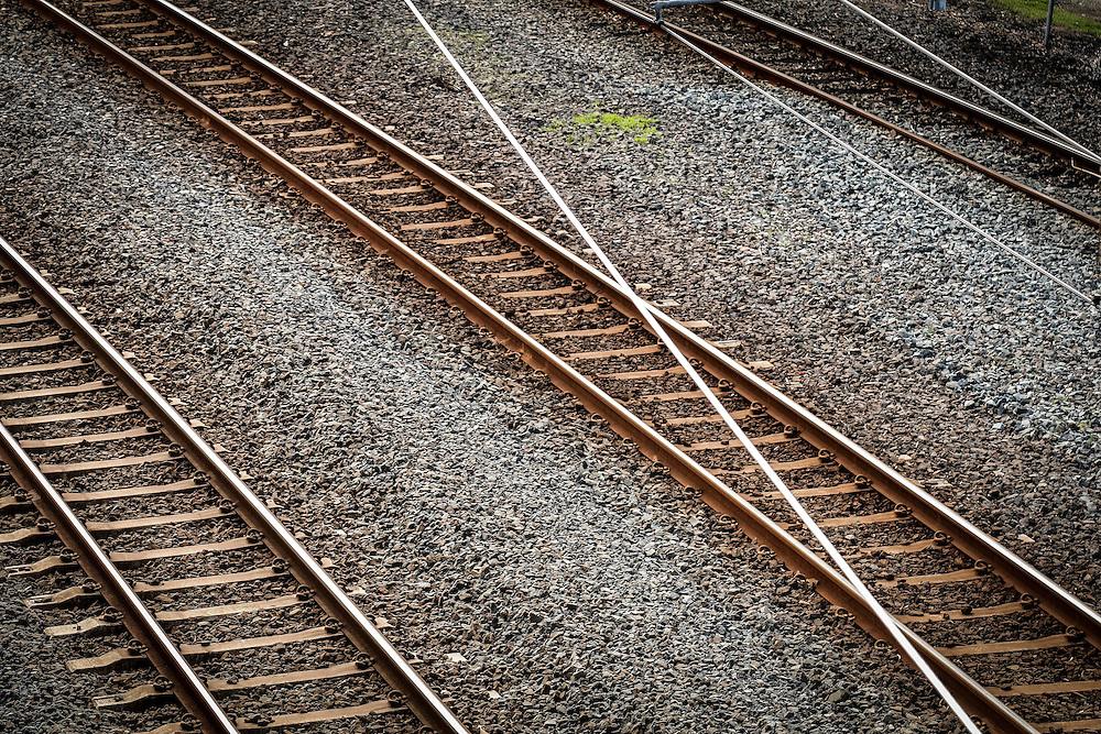 Railway lines, Auckland, New Zealand, Monday, September 19, 2016. Credit:SNPA / Hayden Woodward  **NO ARCHIVING**