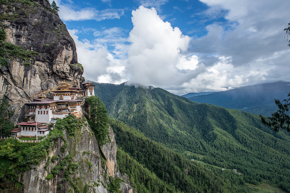 Tigers Nest, Paro, Bhutan <br />