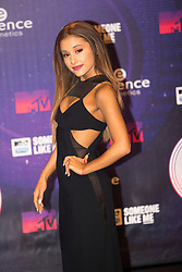 Ariana Grande.<br /> Red carpet at the MTV EMA, Glasgow.