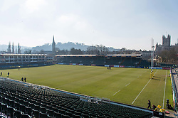 A general view of the Recreation Ground - Mandatory byline: Patrick Khachfe/JMP - 07966 386802 - 24/02/2018 - RUGBY UNION - The Recreation Ground - Bath, England - Bath Rugby v Sale Sharks - Aviva Premiership