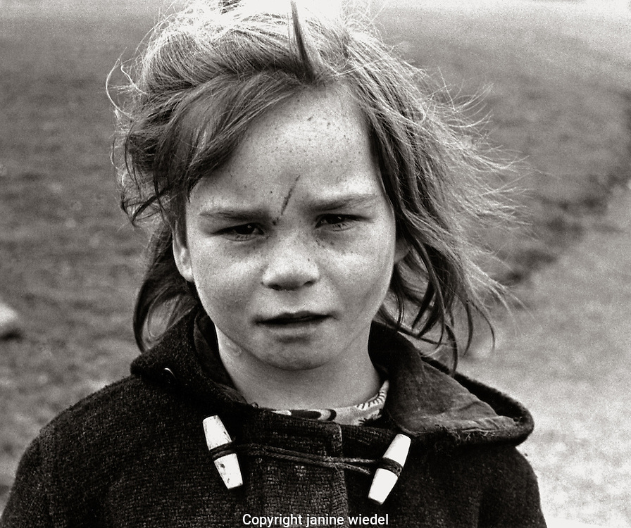 Irish Traveller in Southern Ireland 1970s