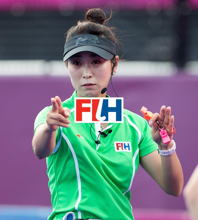 London Olympics 02/08/2012.Women's Hockey Germany v South Africa.Umpire Hy Kang ..Photo: Grant Treeby