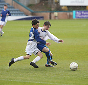 St Johns RC High School (blue shirts) v Grove Academy - Under 14s Urquhart Trophy sponsored by Dee Club Final<br /> <br />  - &copy; David Young - www.davidyoungphoto.co.uk - email: davidyoungphoto@gmail.com