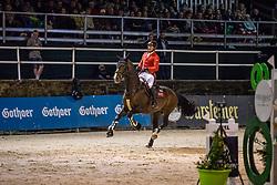 MEYER Tobias (GER), Special One 2<br /> Nörten-Hardenberg - Burgturnier 2018<br /> Gothaer Trophy<br /> Internationale Springprüfung mit Siegerrunde (1,45 m)<br /> 18. Mai 2019<br /> © www.sportfotos-lafrentz.de/Stefan Lafrentz
