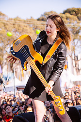 Haim performs at The Treasure Island Music Festival - San Francisco, CA - 10/20/13