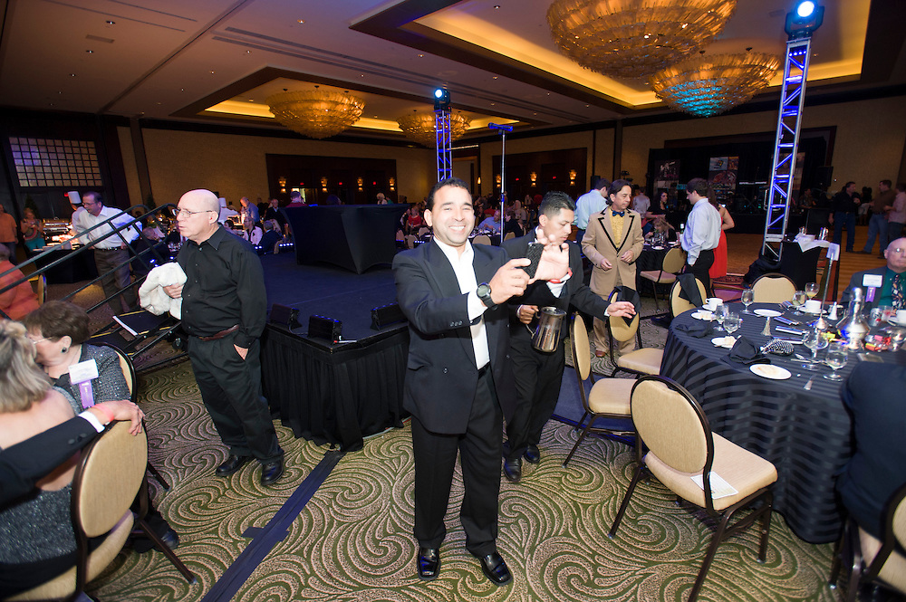 Photograph from the TAA Ultimate Party 50th Anniversary Celebration in Houston, Texas, on April 26 at the Hilton Americas.