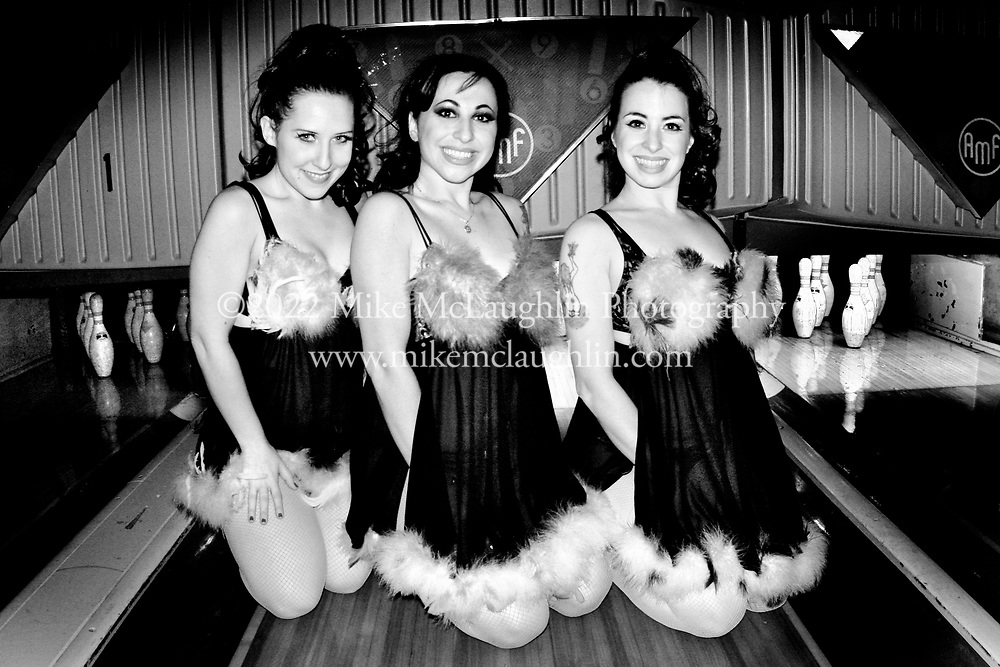 2/18/2006, Asbury Park, New Jersey. The Pontani Sisters present Burlesque-A-Pades at Asbury Lanes in Asbury Park, New Jersey. ©2008 Mike McLaughlin/All Rights Reserved
