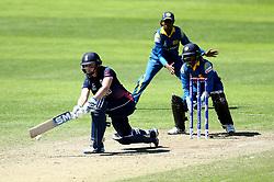 Heather Knight of England Women plays a paddle sweep shot - Mandatory by-line: Robbie Stephenson/JMP - 02/07/2017 - CRICKET - County Ground - Taunton, United Kingdom - England Women v Sri Lanka Women - ICC Women's World Cup Group Stage