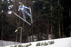 Kaja Coz Urbanija from Slovenia during Qualification Round at Day 2 of FIS Ski Jumping World Cup Ladies Ljubno 2018, on January 27, 2018 in Ljubno ob Savinji, Slovenia. Photo by Urban Urbanc / Sportida