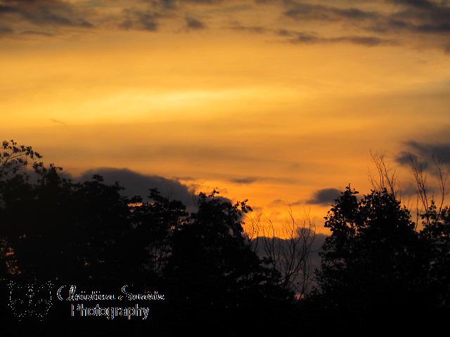 Beautifil Ohio Orange Sunset.