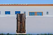 Marfa, Texas, adobe house, residence, wall