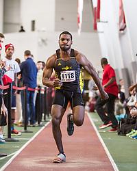 Boston University John Terrier Classic Indoor Track & Field: mens long jump, Kirkland, adidas GSTC
