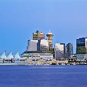 Vancouver harbor. British Columbia, Canada.