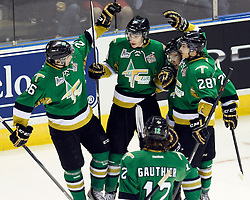 Action from Game 5 at the MasterCard Memorial Cup in London, ON between the Val-d'Or Foreurs and Edmonton Oil Kings on Tuesday May 20, 2014. Photo by Aaron Bell/CHL Images