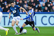 Sheffield Wednesday midfielder Kieran Lee (5) and Blackburn Rovers midfielder Stewart Downing (19) during the EFL Sky Bet Championship match between Sheffield Wednesday and Blackburn Rovers at Hillsborough, Sheffield, England on 18 January 2020.