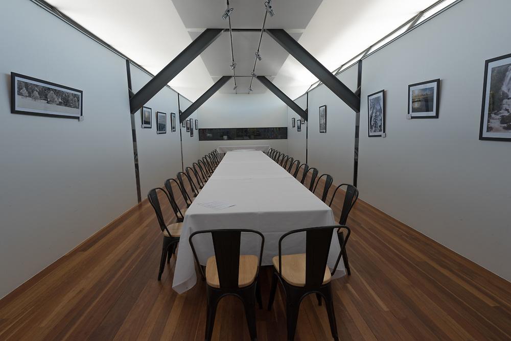 A tasting room in an Australian vineyard.